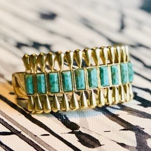 Lucky Brand Turquoise Cuff